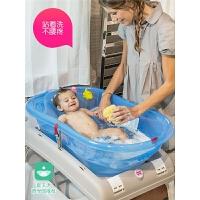 可坐躺通用宝宝浴盆 婴儿洗澡盆大号厚