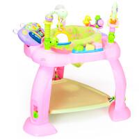 多功能跳跳蹦跳椅婴儿安全坐椅健身架电子琴半岁6-12个月