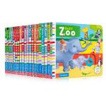 英文原版 Busy繁忙的系列21册合售 幼儿纸板机关书 Garden/airport/Playtime 儿童启蒙操作书