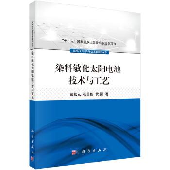 【全新正版】染料敏化太阳电池技术与工艺 戴松元,张昌能,黄阳 9787030497352 科学出版社