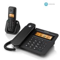 【当当热销】摩托罗拉 C601 数字电话机 无绳来电显示电话 单机 无线家用办公电话机