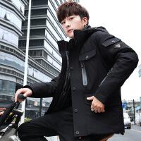 男士外套冬季2018新款棉衣潮流韩版修身羽绒棉袄加厚帅气冬天