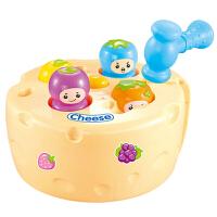 儿童玩具音乐灯光打地鼠大号男女宝宝敲击果虫1-2-3周岁