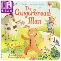 【中商原版】Usborne启蒙童话:姜饼人 The Gingerbread Man 传统童话故事 色彩丰富 文字简单