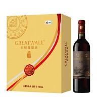 长城 218元/盒 金钻祥瑞葡萄酒礼盒 750ml*2瓶 /盒