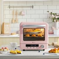 小熊 Bear 电烤箱 多功能家用迷你小型烘焙旋风式水浴蒸烤20L烘烤蛋糕面包饼干机 DKX-D20A1