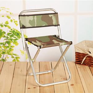 门扉 折叠椅 靠背凳户外钓鱼凳便携式折叠凳子排队凳折叠凳
