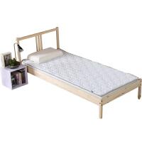 儿童床垫床褥子 学生宿舍床垫被 0.8m床单人小褥子垫背 无印针织面料款