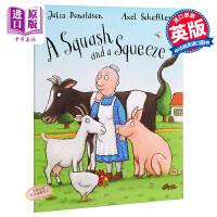 【中商原版】又窄又小的房子英文原版A Squash and a Squeeze Big Book地板书 名家绘本