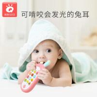 儿童手机玩具宝宝益智早教智能音乐仿真电话女孩男孩婴儿公主按键