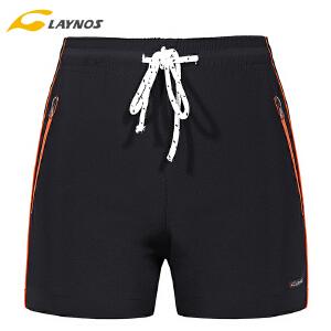 laynos雷诺斯运动短裤夏季跑步健身大码速干五分裤宽松薄款5分