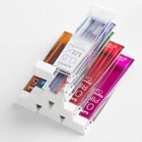 日本UNI三菱彩色铅芯Nano Dia 0.5-202NDC|多彩纳米铅芯铅笔芯 彩色铅芯混色不易断 小学生自动铅笔笔