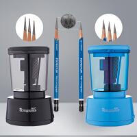炭笔绘画美术素描电动削笔器 铅笔刀自动卷笔刀削笔刀刨笔机可充电