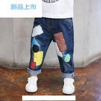 男童牛仔裤2017春秋新款韩版宝宝1-3-5-8岁儿童长裤子童装春季潮