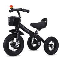 大号儿童三轮车脚踏车童车2-6岁宝宝自行车小孩车童车玩具车 彩 骑行款炫彩绿色