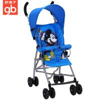 【支持礼品卡】好孩子超轻便型婴儿手推车冬夏两用折叠便携伞车宝宝车童车D302/D303