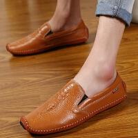 DAZED CONFUSED2017新款男士商务豆豆鞋韩版正装百搭一脚蹬懒人鞋英伦风套脚潮