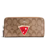 【当当自营】蔻驰(COACH)优雅女士拉链款钱包手拿包卡包  F57820