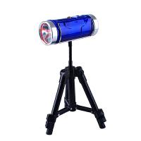 钓鱼灯 双光源防水夜钓灯远射可充电户外蓝光台钓灯饵灯照明支架手电筒