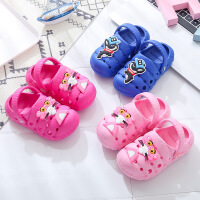 儿童洞洞鞋 2-5岁包头儿童凉拖鞋夏防滑小童拖鞋环保男女宝宝婴童鞋