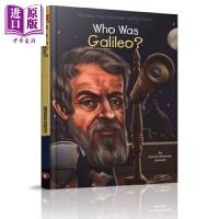 【中商原版】谁是伽利略 Who Was Galileo 儿童科普文学 中小学生读物 人物传记 英文原版 7-12岁 Wh