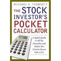 【预订】The Stock Investor's Pocket Calculator: A Quick