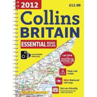 【预订】Collins Britain Essential Road Atlas