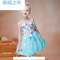 女童礼服公主蓬蓬裙花童装生日礼服儿童团体合唱舞蹈演出服款