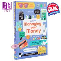 【中商原版】USBORNE提升技能系列:学会财商 Managing your money 亲子童书 少儿百科 理财启蒙