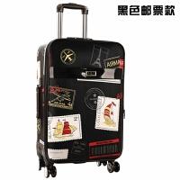 行礼拉箱手拉箱学生韩版拉杆箱男28大容量密码箱26帆布行李箱女24皮箱 20【偏小 适合登机】