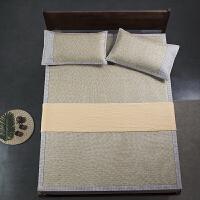 娇帛JIAOBO夏季凉席藤席三件套可折叠床笠款日式和席