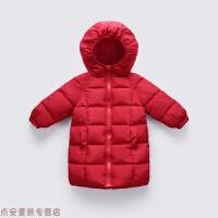 冬季儿童羽绒加厚中长款男童棉衣女童棉袄小孩婴幼儿冬季宝宝童装秋冬新款
