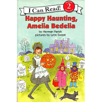 英文原版 Happy Haunting, Amelia Bedelia I can read第二阶段