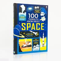 原版英文 100 things to know about science 关于科学的100件事图书活动书亲子互动英语