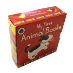 Ladybird Animal 4 Copy Mini Board Book Slipcase 小瓢虫:我的第一本动物词汇 ISBN 9781409308034