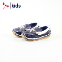 红蜻蜓童鞋春秋款男童小童时尚款单鞋