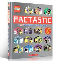 英文原版书绘本 Factastic: A Lego Adventure in the Real World 乐高探索世