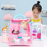 3岁6儿童过家家小孩生日礼物玩具手提包女孩公主城堡房子