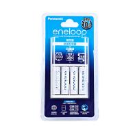 松下爱乐普5号可充电电池三洋eneloop相机闪光灯AA五号充电器套装