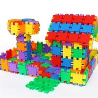 大颗粒塑料积木拼装组合儿童玩具 早教方块男孩女孩3-6周岁