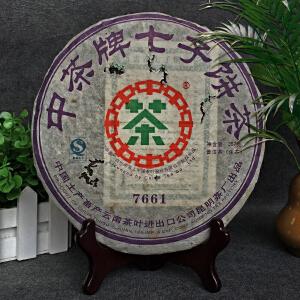 【7片】2007年 中茶牌(7661)普洱生茶 357g/片