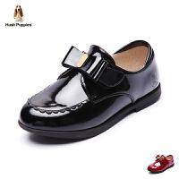 暇步士童鞋2017年新款女童真皮演出鞋中大童羊皮皮鞋 DP9090
