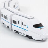 儿童大号电动万向和谐号小火车益智玩具仿真拖马斯高铁动车模型带万向轮