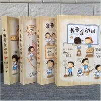 同学录复古小学生韩国创意唯美毕业纪念册初中生女小清新活页本回忆纪念册