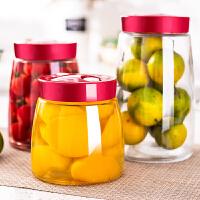 酵素玻璃储物罐泡菜坛子腌菜罐密封罐泡酒瓶玻璃瓶酵素桶罐子家用