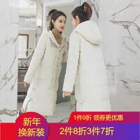 民族风羽绒女2018外套冬装中国风棉衣棉袄女中长款过膝
