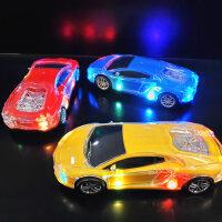 儿童电动玩具车仿真赛车模型声光万向轮抖音3-6岁5男孩小汽车玩具