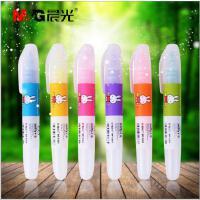 M&G/晨光正品 彩色荧光笔米菲系列醒目荧光笔 办公学习标记笔可爱创意记号笔