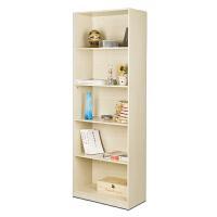[当当自营]慧乐家 书柜书架 五层书柜 层架置物架储物柜 白枫木色 12045