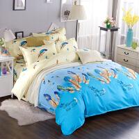 床上用品四件套卡通款加厚磨毛1.8/2.0m床